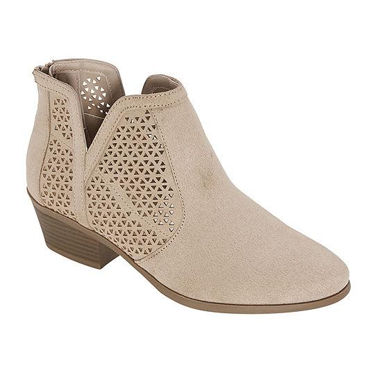 a.n.a Womens Lakewood Block Heel Booties