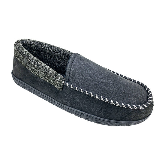 Dockers Venetian With Plush Collar Slipper Moccasin Slippers