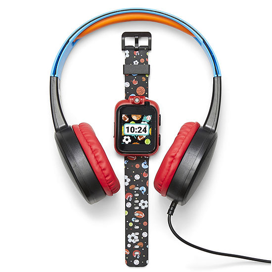 Itouch Playzoom Bundle Boys Multicolor Smart Watch-9210wh-18-G01
