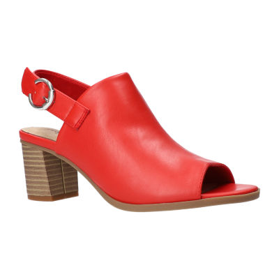 Easy Street Womens Anarose Heeled Sandals