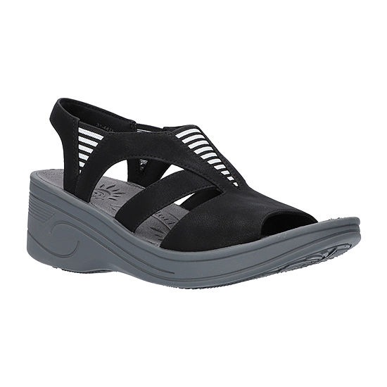 Easy Street Womens Uplift Wedge Sandals