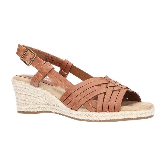 Easy Street Womens Ora Wedge Sandals