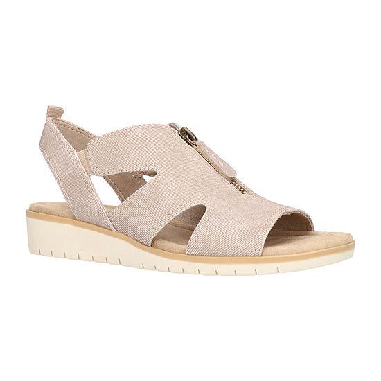 Easy Street Womens Narelle Wedge Sandals
