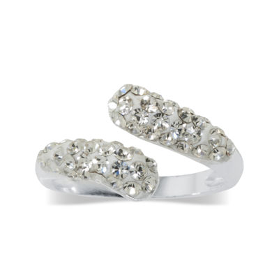 Sparkle Allure Other White Bypass Ring