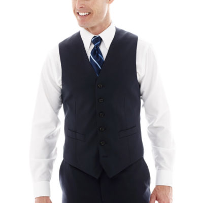 Stafford® Super 100 Royal Navy Suit Vest