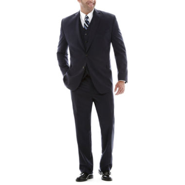 jcpenney.com | Stafford® Super 100 Royal Navy Suit Separates–Big & Tall