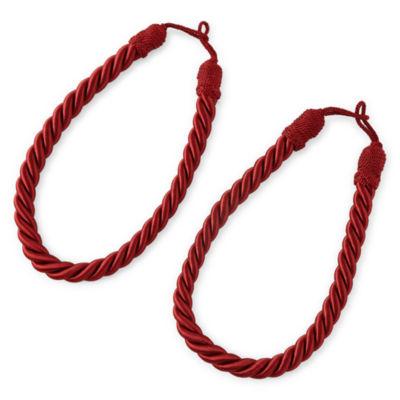Set of 2 Rope Tiebacks