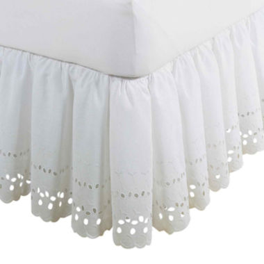 "Fresh Ideas 18"" Eyelet Bedskirt"