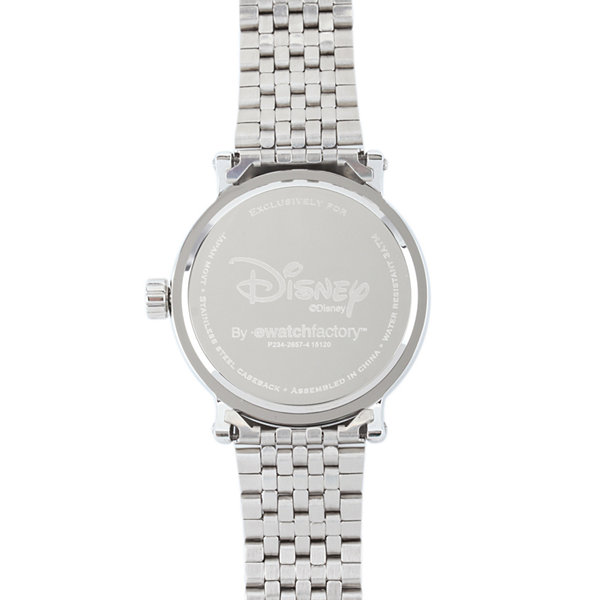 Disney Mens Donald Duck Stainless Steel Bracelet Watch