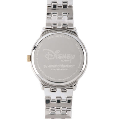 Disney Womens Two-Tone Bow Bracelet Watch