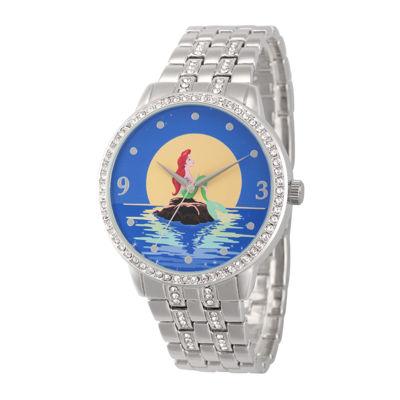 Disney Ariel Womens Moon Bracelet Watch