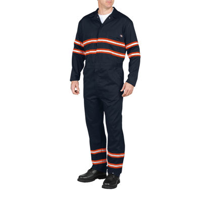 Dickies® High-Visibility Long-Sleeve Coveralls