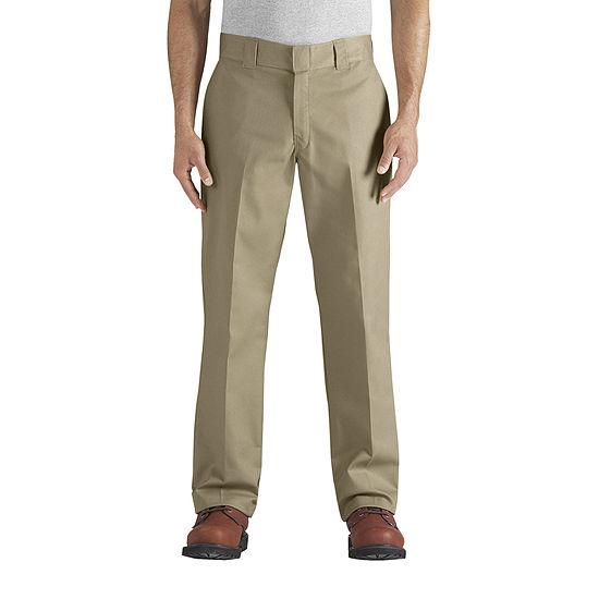 Dickies® FLEX Regular Fit Straight Leg Twill Multi-Use Pocket Work Pants