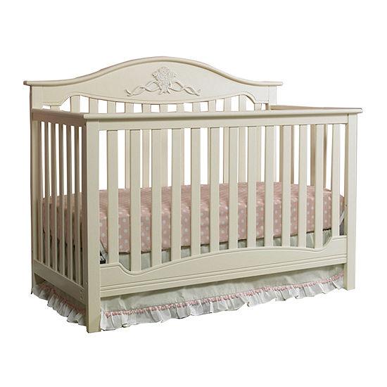 Fisher Price Mia Convertible Crib Off White