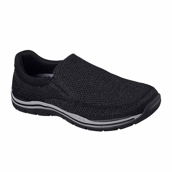 Skechers Mens Gomel Slip-On Shoe Round Toe