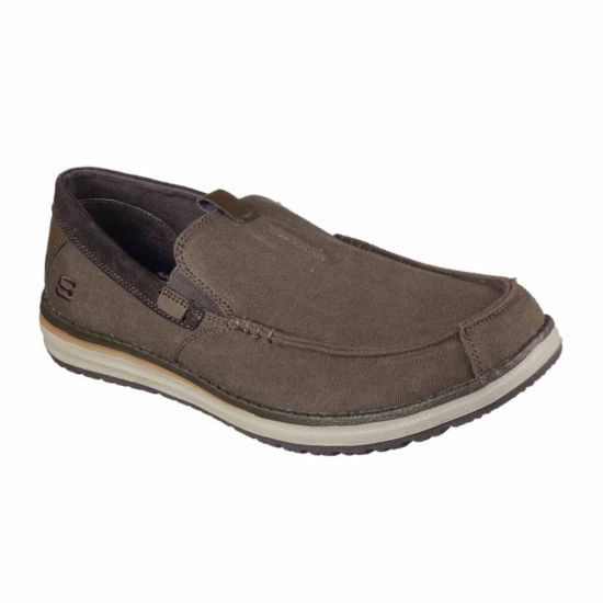 Skechers Mens Valerio Slip-On Shoes Slip-on