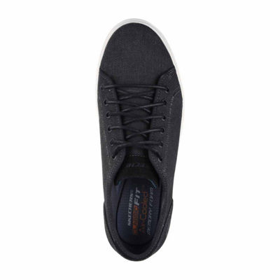 Skechers Mens Meteno Oxford Shoes Lace-up