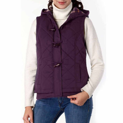 Quilted Hooded Vest