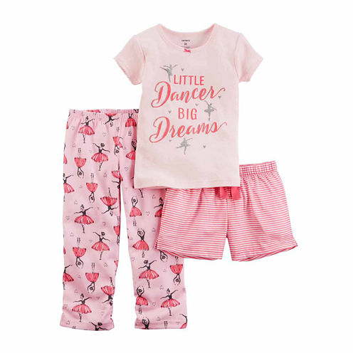 Carter's Girls 3pc PJ Set
