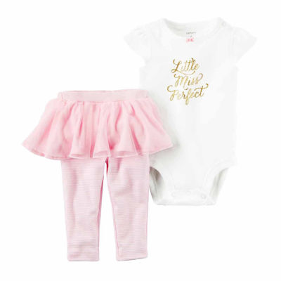 Carter's Girls 2 pc. Bodysuit Pant Set