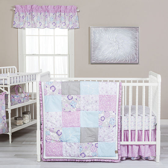 Trend Lab 5-pc. Floral Crib Bedding Set