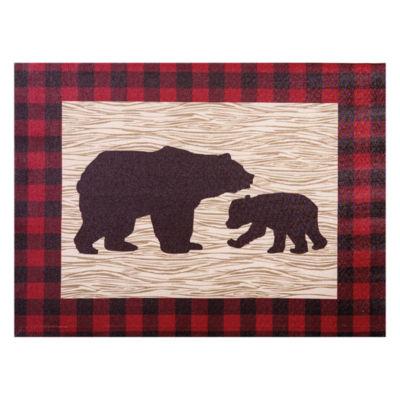 Trend Lab Northwoods Bear Canvas Wall Art