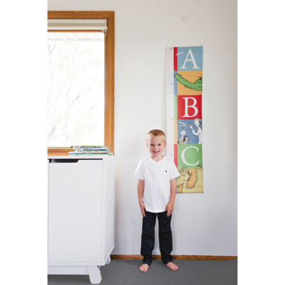 Trend Lab Alphabet Seuss Canvas Growth Chart