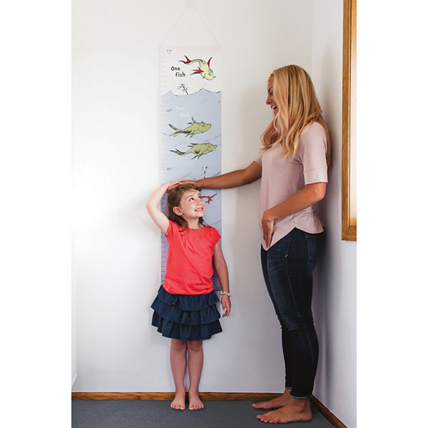 Trend Lab One Fish Two Fish Canvas Growth Chart