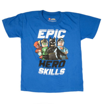 Justice League Graphic T-Shirt-Preschool Boys