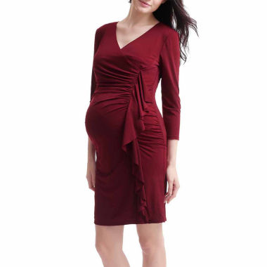 Momo Baby Sheath Dress-Maternity