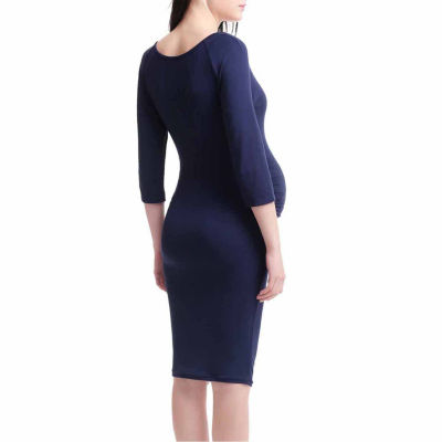 Momo Baby Bodycon Dress-Maternity