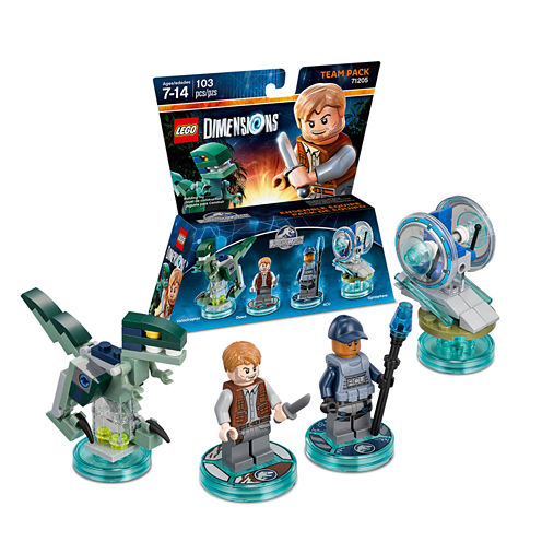 Lego Dims Jurassic World Team Pack Gaming Accessory