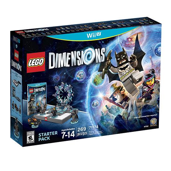 Lego Dims Starter Pack Video Game-Wii U