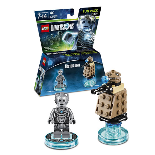 Lego Dims Dr Who Cyberman Fun Pack Gaming Accessory