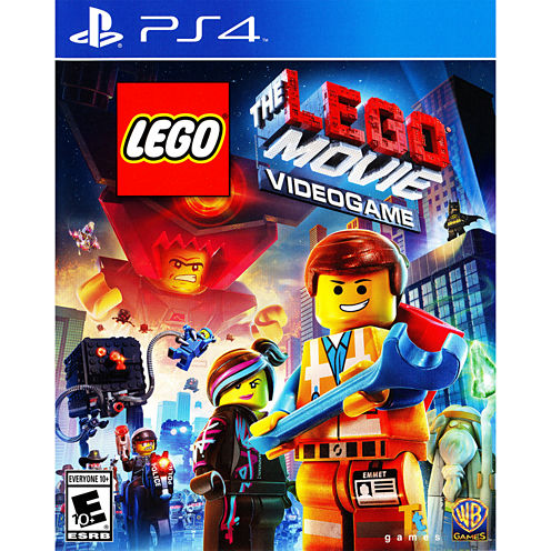 Lego Movie Videogame Video Game-Playstation 4