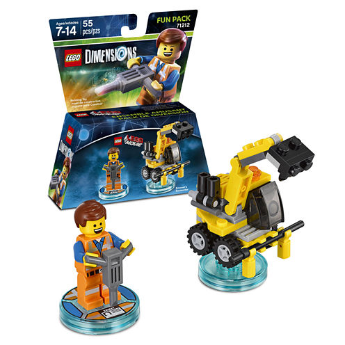 Lego Dims Movie Emmet Fun Pack Gaming Accessory