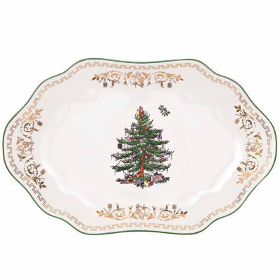 Spode Christmas Tree Serving Platter