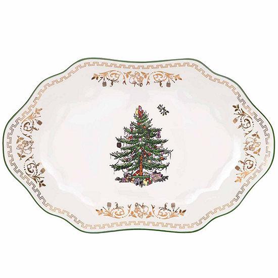 Spode Christmas Tree Serving Platter