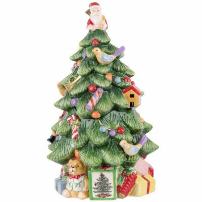 Spode Christmas Tree Cookie Jar