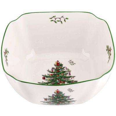 "Spode Christmas Tree 10"" Serving Bowl"