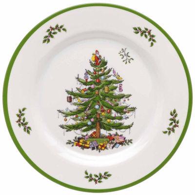 Spode Christmas Tree 4-pc. Dinner Plates Set