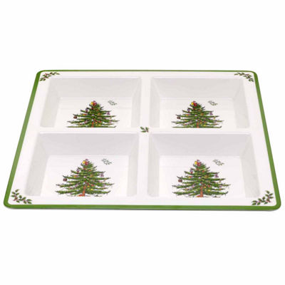 Spode Christmas Tree Divided Tray