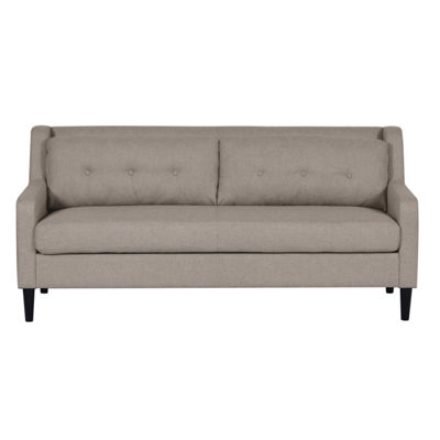Home Meridian Fabric Track-Arm Sofa