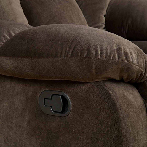 Sekovitch Fabric Pad-Arm Reclining Sofa