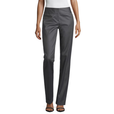 Worthington Slim Fit Wide-Waistband Pants
