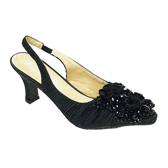 Whittall & Shon Womens Fortuny Pumps Closed Toe