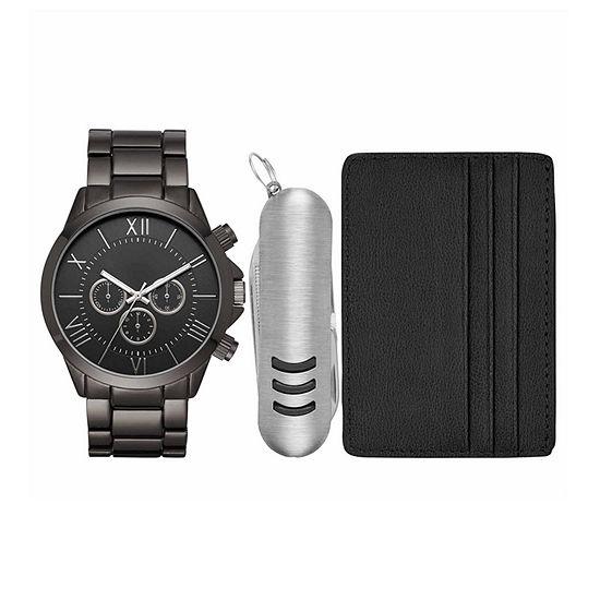 Mens Black Watch Boxed Set-Fmdjset518