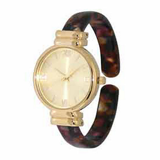 Olivia Pratt Elegant Womens Red Strap Watch-17536redblack