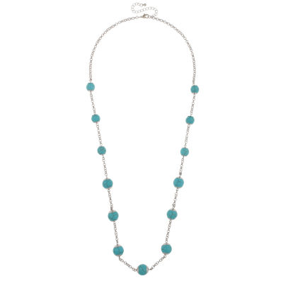 Mixit Womens Round Beaded Necklace