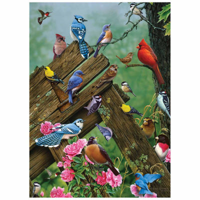 Cobble Hill: Birds Of The Forest 1000 Piece JigsawPuzzle